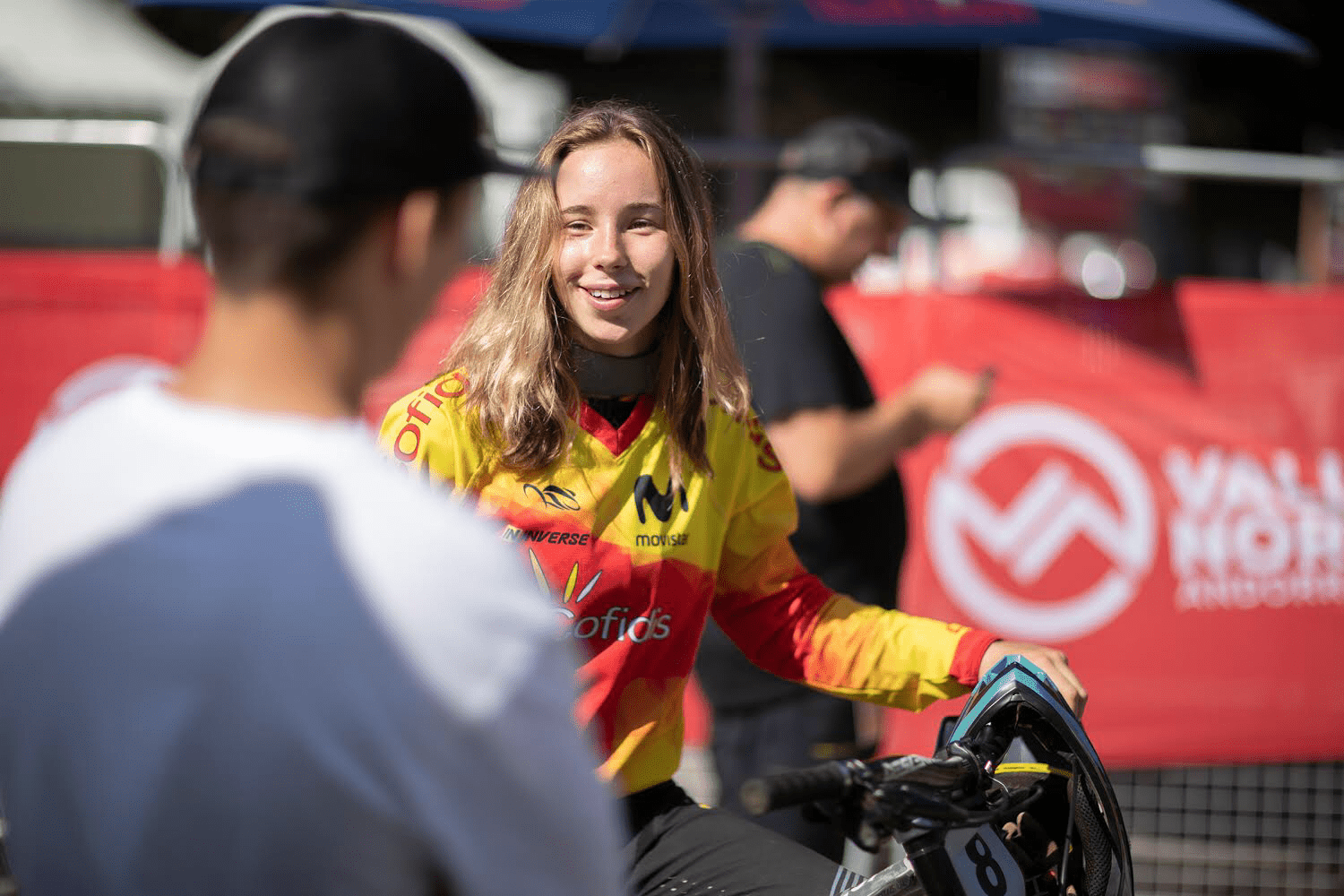 Ainhoa Ijurco portrait mercedes-benz-uci-mountain-bike world cup Valnord Andorra